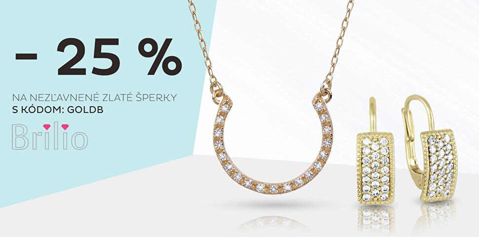 Zlaté Brillio -25 %