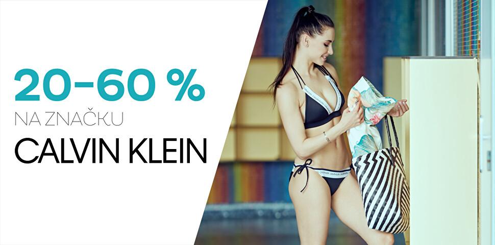 Calvin Klein se slevou 20 - 60 %