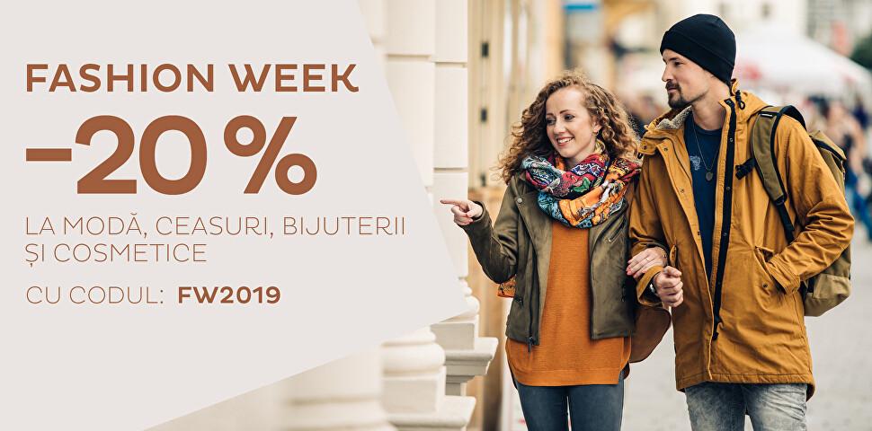 -20 % Fashion Week