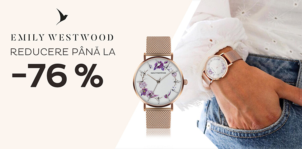 Emily Westwood reducere până la -76 %