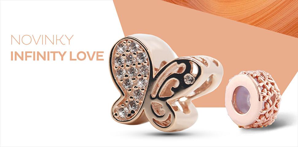 Novinky šperků Infinity Love