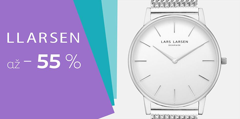 Lars Larsen se slevou až 55 %