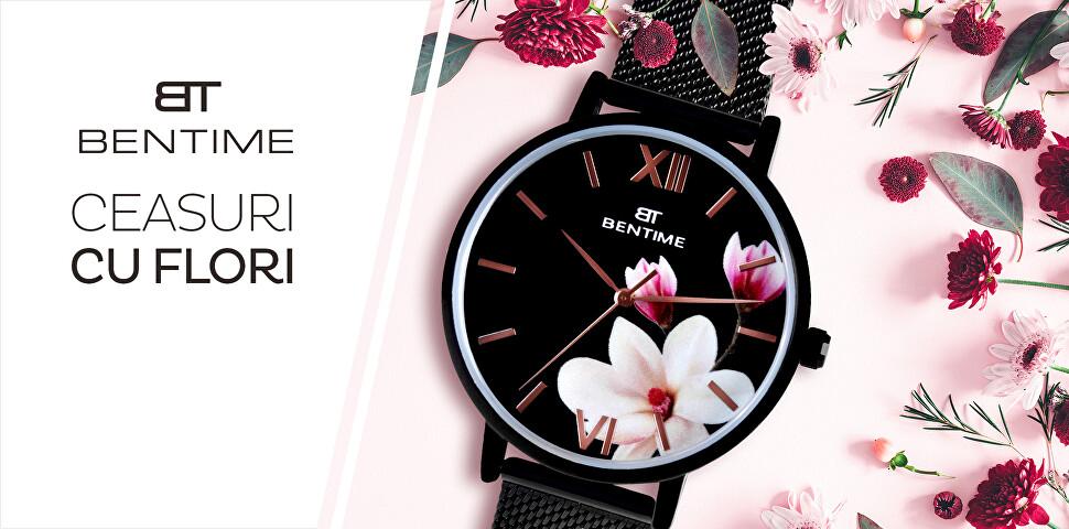 Ceasuri cu flori BENTIME