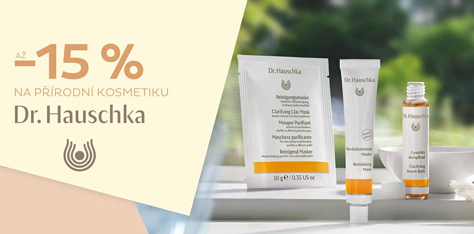 Až -15 % na kosmetiku Dr. Hauschka