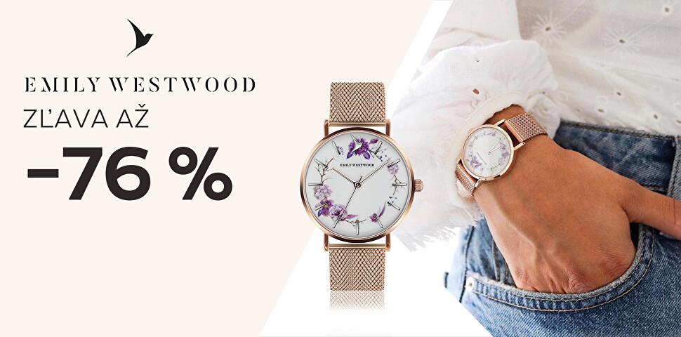 Hodinky Emily Westwood až -76 %