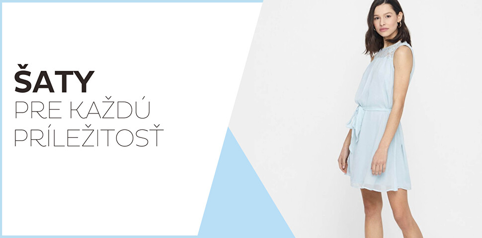 Dámske šaty so zľavou až 60 %