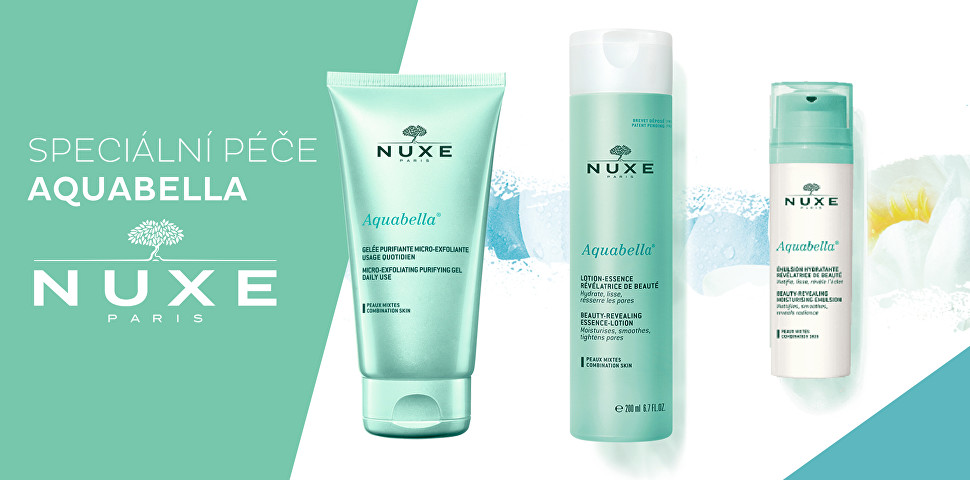 Novinky Nuxe Aquabella