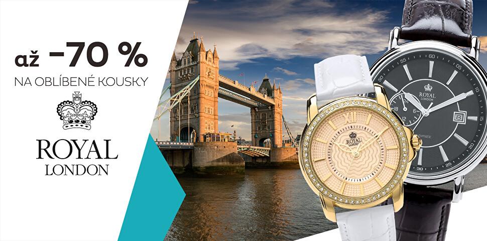 Royal London se slevou až 70 %