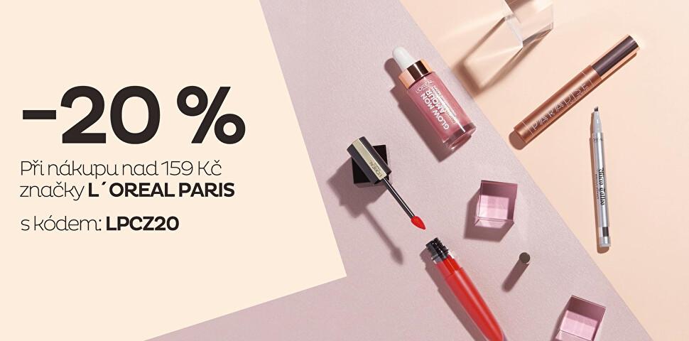 L´ORÉAL PARIS -20 %