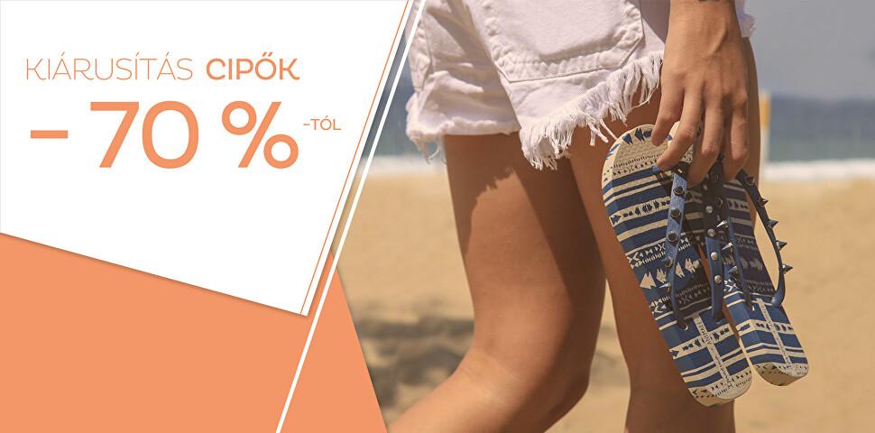Kiárusítás cipök - 70 %