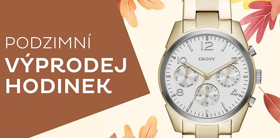 Podzimní výprodej hodinek