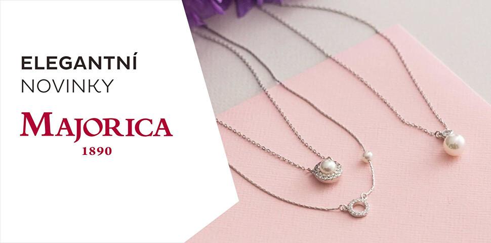 Novinka - šperky Majorica