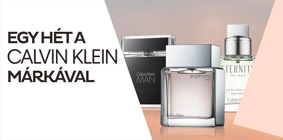 Egy hét a Calvin Klein márkával
