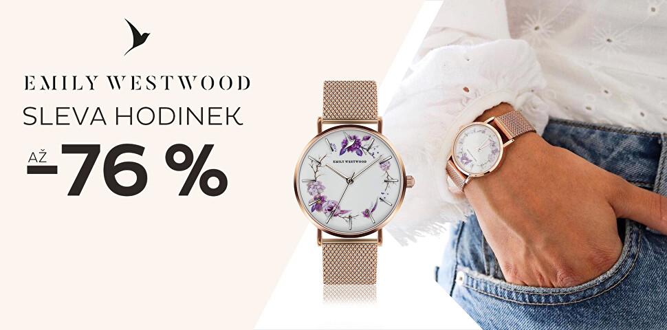Sleva až 76 % na hodinky Emily Westwood