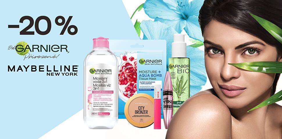 -20 % na oblíbené kosmetické značky