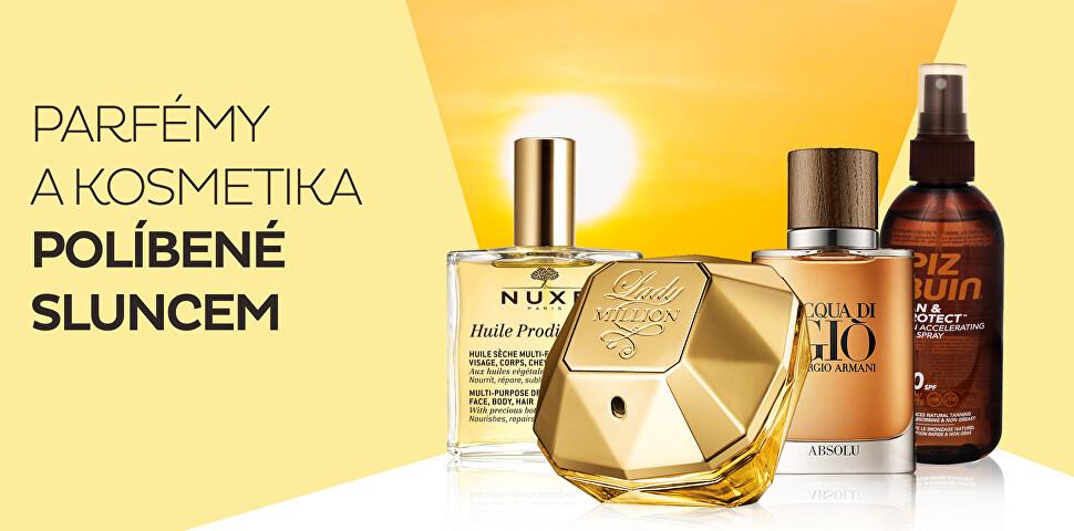 Parfémy a kosmetika plné slunce