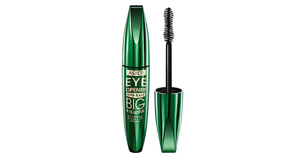 Astor Extra zvýrazňujúce riasenka Big & Beautiful (Eye Opener Mascara) 12 ml 910 Ultra Black