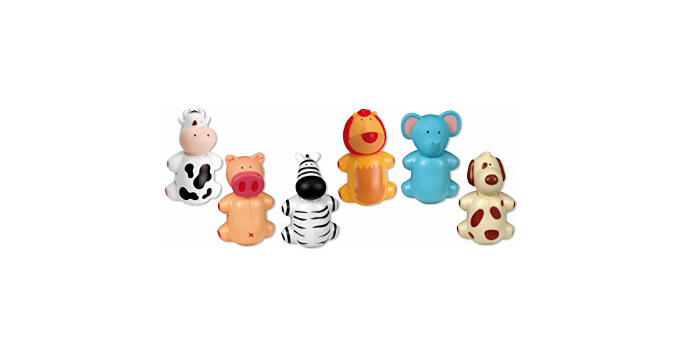 Miradent Hygienické držiatko na zubnú kefku pre deti Funny Animal Veselé prasátko