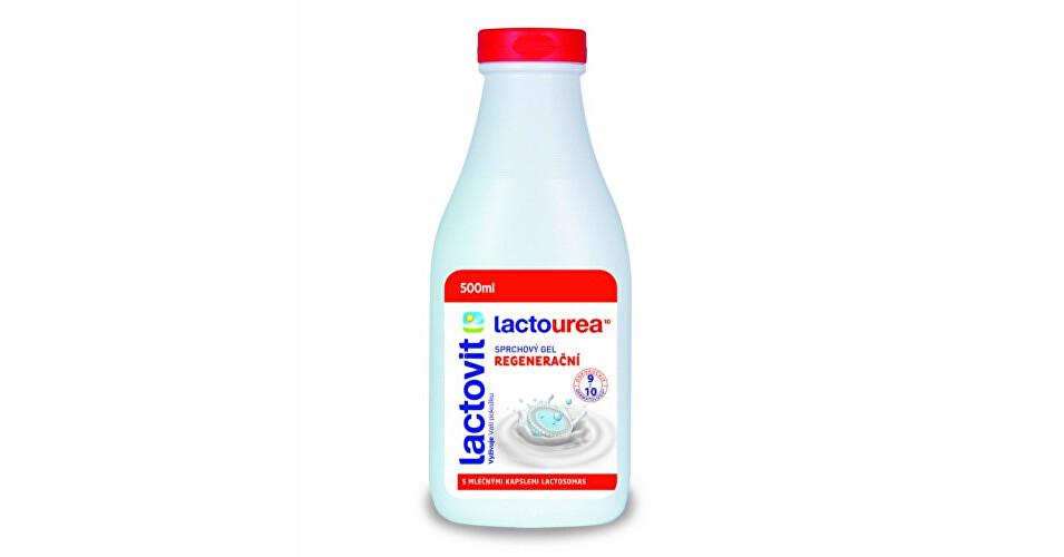 Lactovit Regeneračný sprchový gél s mliečnymi proteínmi Lactourea 300 ml