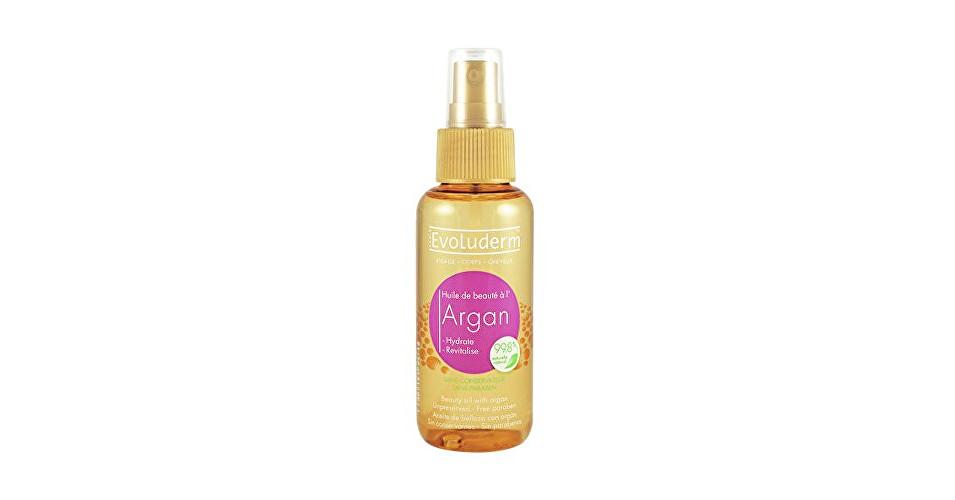 Evoluderm Skrášľujúce olej na pleť a vlasy s arganovým olejom ( Argan Oil ) 100 ml