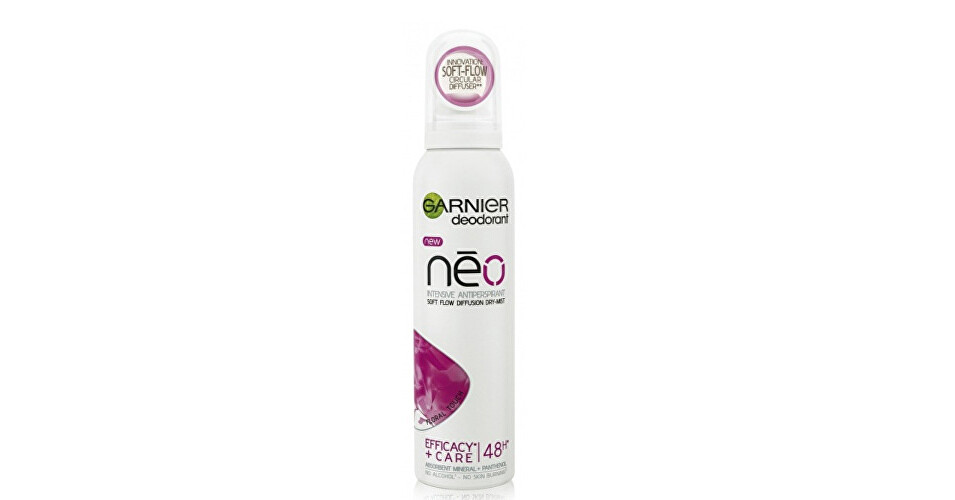 Garnier Antiperspirant v spreji s panthenolom Floral Touch Néo (Intensive Antiperspirant) 150 ml