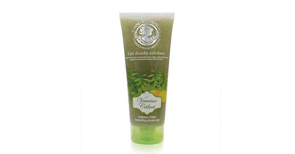 Jeanne En Provence Peelingový sprchový gél Verbena a citrón (Exfoliating Shower Gel) 200 ml