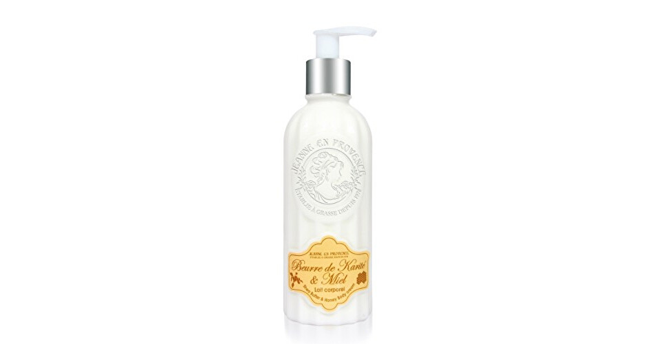 Jeanne En Provence Tělo vé mlieko Bambucké maslo a med (Shea Butter & Honey Body Cream) 250 ml