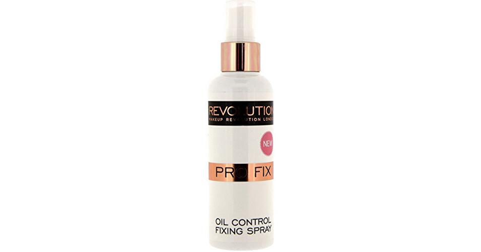 Makeup Revolution Zmatňujúci Fixačný sprej na make-up (Pre Fix Makeup Oil Control Fixing Spray) 100 ml