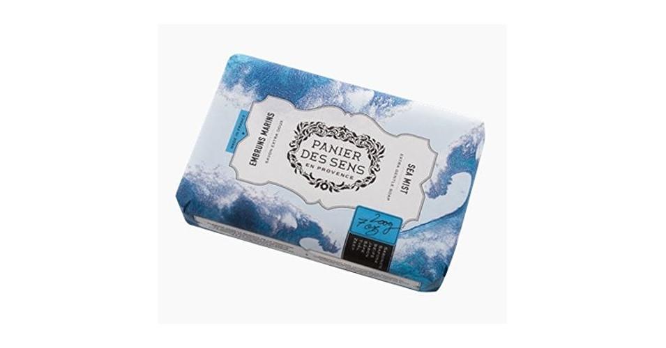 Panier des Sens Extra jemné prírodné mydlo s bambuckým maslom Morská ranná hmla (Extra Gentle Soap) 200 g