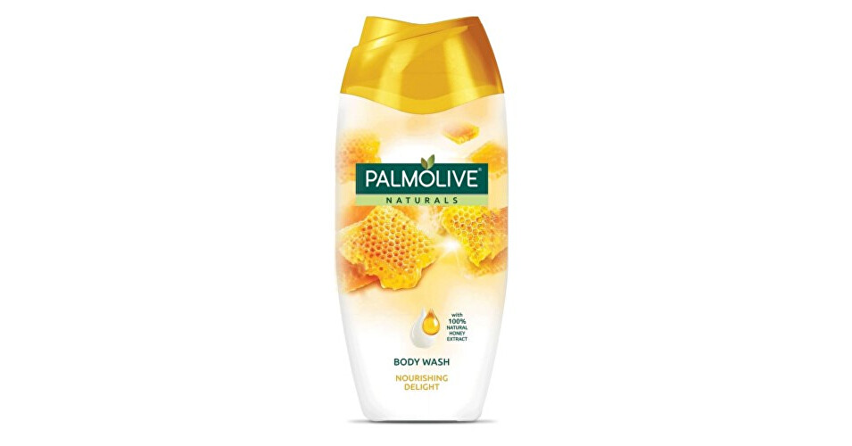 Palmolive Vyživujúci sprchový gél s výťažkami medu Natura l s (Nourishing Delight Milk & Honey) 500 ml