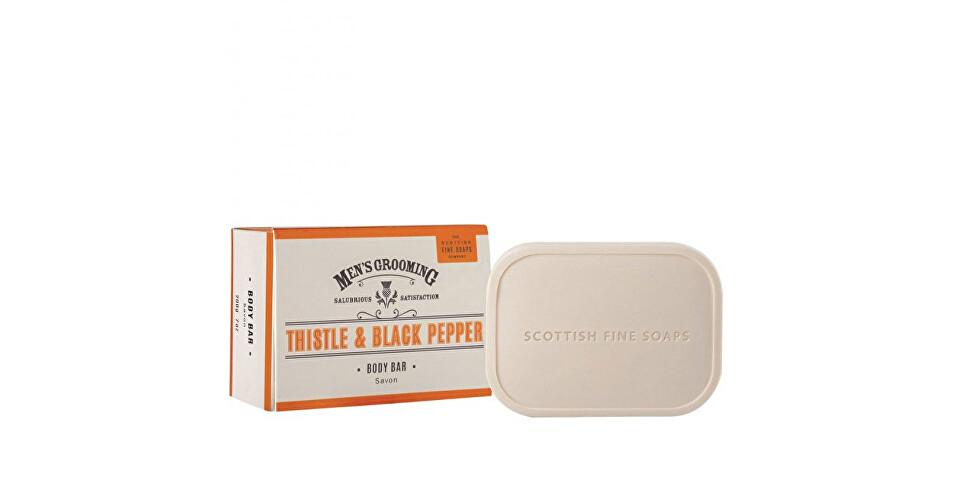 Scottish Fine Soaps Pánske mydlo Čierne korenie a pestrec 200 g