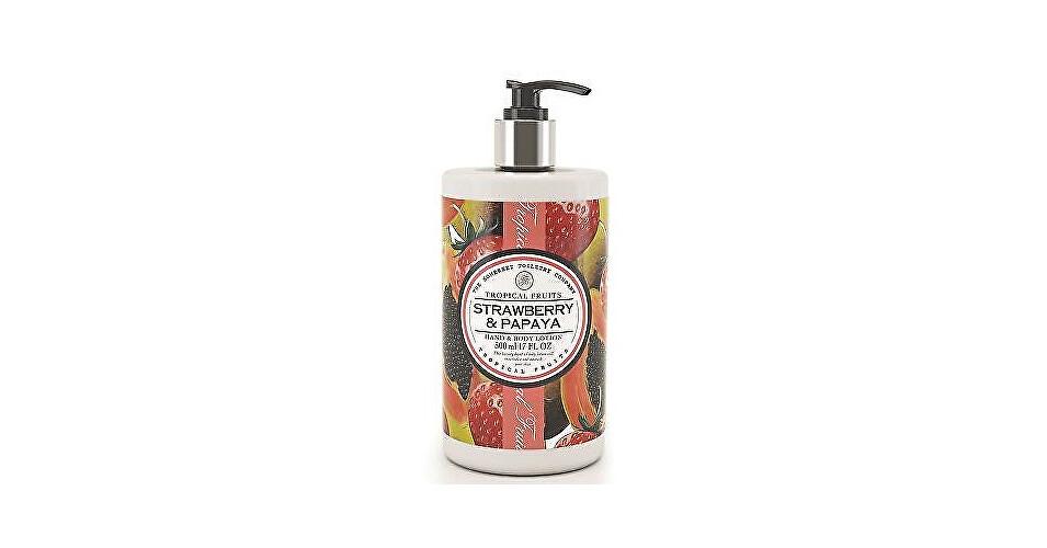 Somerset Toiletry Výživné mlieko na ruky a telo Jahody a papája (Hand & Body Lotion) 500 ml