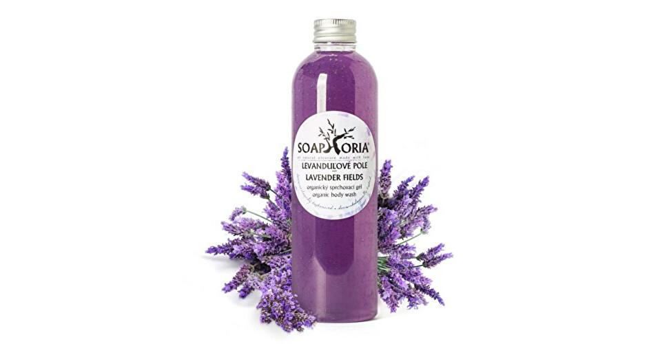 Soaphoria Organický sprchový gél Levanduľové pole (Organic Body Wash Lavender Fields) 250 ml