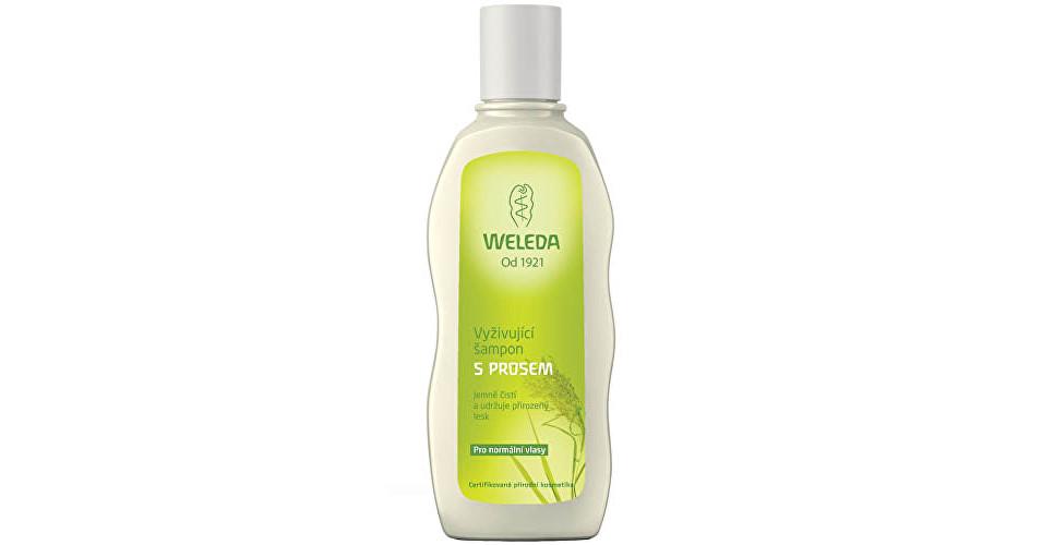 Weleda Vyživujúci šampón s prosom pre normálne vlasy 190 ml