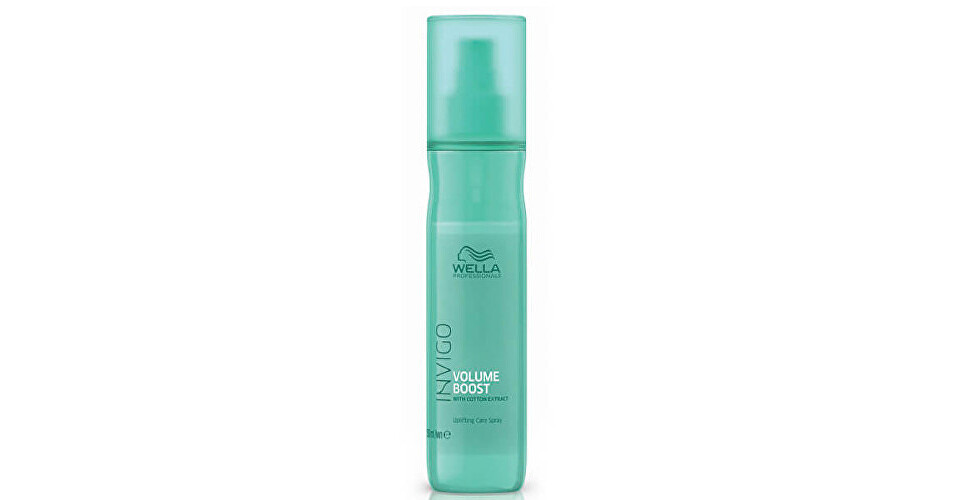 Wella Professional Bezoplachový sprej pre väčší objem jemných vlasov Invigo Volume Boost (Uplifting Care Spray) 150 ml