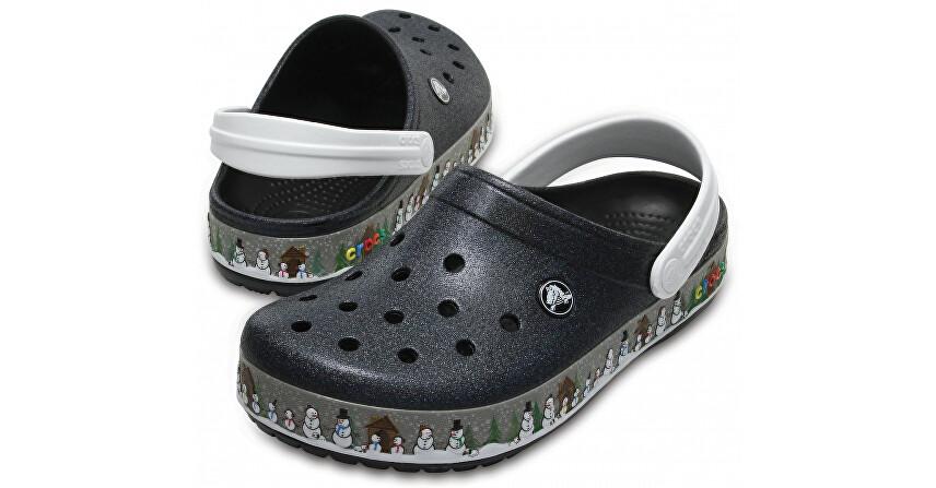 Crocs Šľapky Crocband Holiday Clog Black 204645-001 37-38