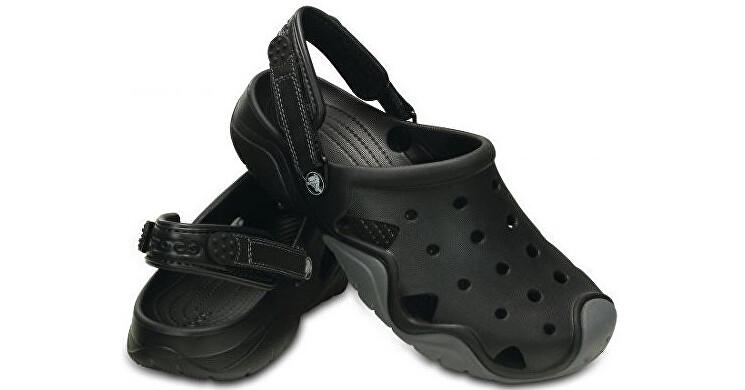 Crocs Šľapky Swiftwater Clog Black/Charcoal 202251 46-47