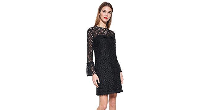 Desigual Dámske šaty Vest Isabel 17WWVWB0 2000 36