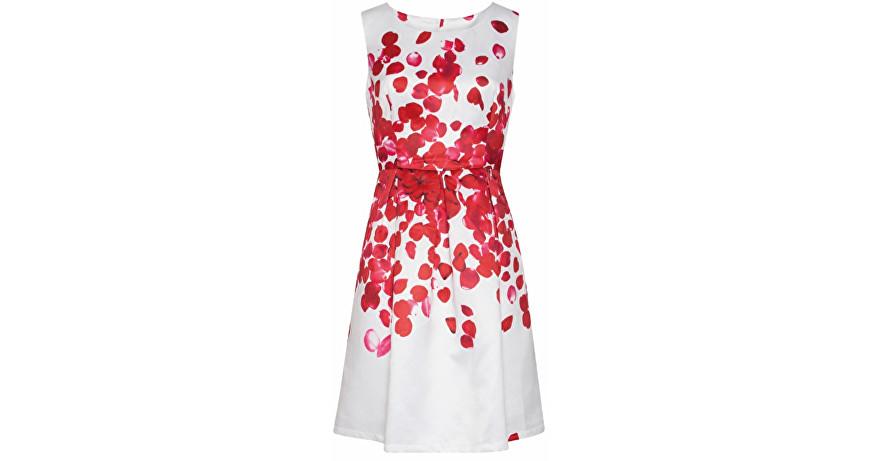 Smashed Lemon Dámske krátke šaty Red 18073/04 S