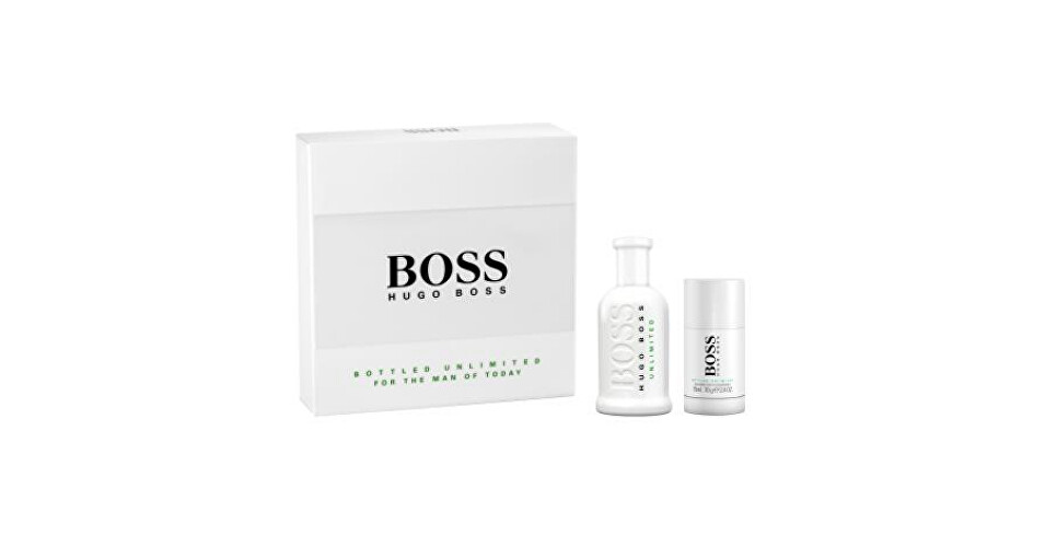 Hugo Boss Boss No. 6 Bottled Unlimited EdT 100 ml + tuhý dezodorant 75 ml darčeková sada