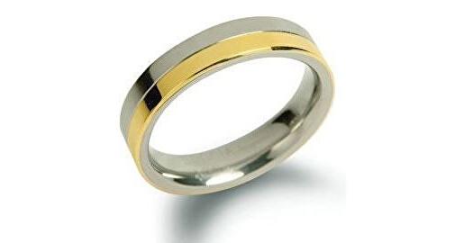 Boccia Titanium Snubný titánový prsteň 0129-02 65 mm