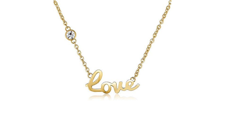 S`Agapõ Romantický náhrdelník Write SWT02