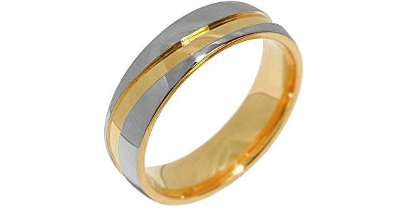Silvego Snubný oceľový prsteň pre mužov a ženy Mariage RRC2050-M 64 mm