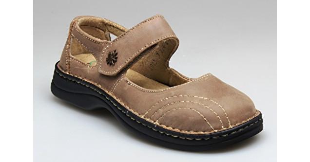 SANTÉ Zdravotná obuv dámska N / 224/8/43 svetlo hnedá vel. 36