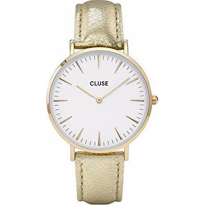 Cluse Minuit Gold White Gold Metallic CL30036