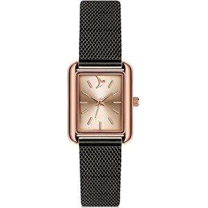 Emily Westwood Queensland Black Mesh Watch ECL-3316