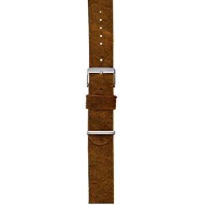 Lars Larsen Řemínek kůže/hnědý 22 mm CZS22