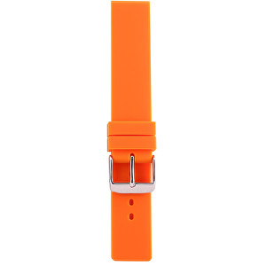 Lars Larsen Řemínek silikon/oranžový 18 mm OSS18