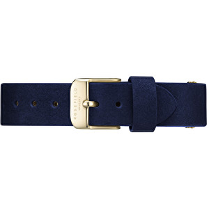 Rosefield West Village Blue Gold Strap