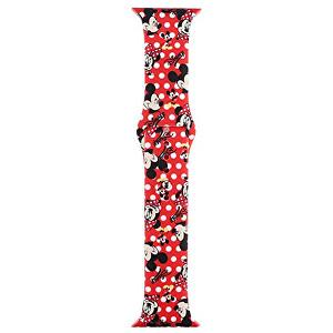 Wotchi Silikonový řemínek pro Apple Watch - Červený Mickey Mouse 42/44 mm